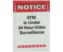 NOTICE: ATM Surveillance Decal