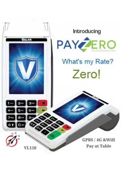 VL110 - Tabletop Credit Card Machine - 4G