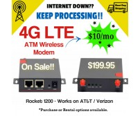 4G Wireless Modem (Warranty)